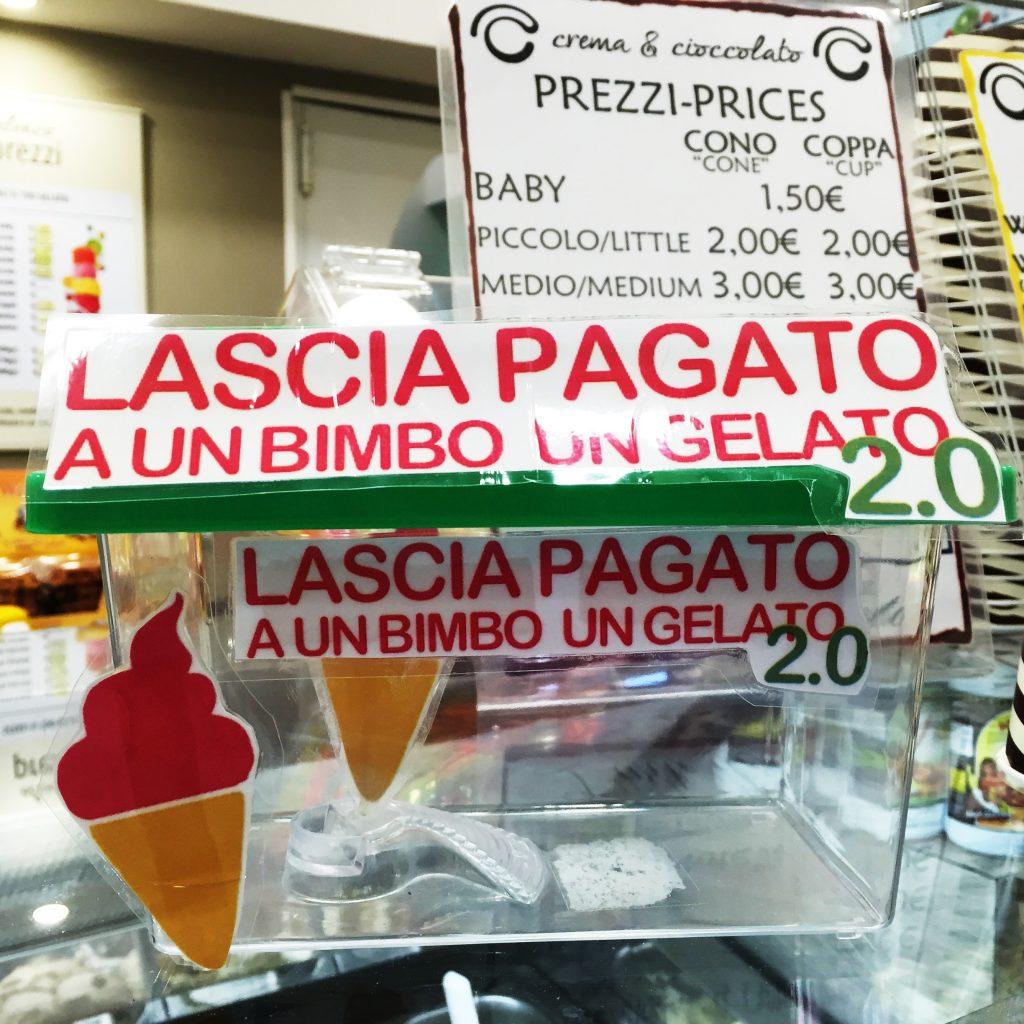 CASSETTINA LASCIA PAGATO UN GELATO 2.0 rimi